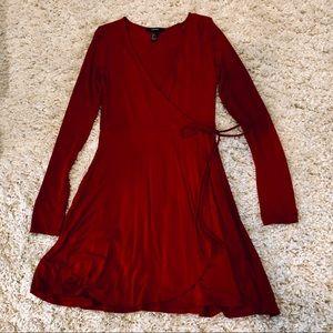 Mock Wrap Dress | Forever 21